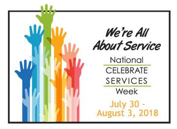 Celebrate Services Week 2018